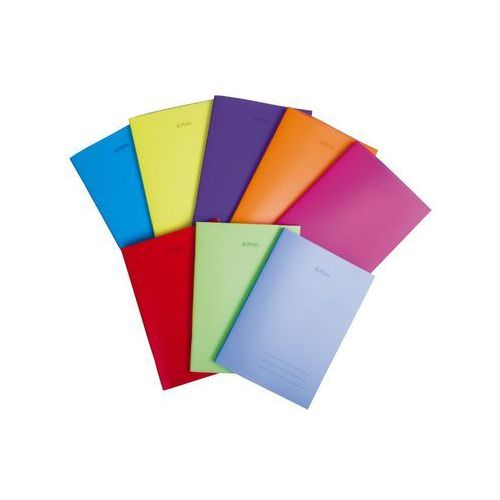 Zeszyty, Zeszyt A4 PP w kratkę 60 kartek 5 sztuk mix