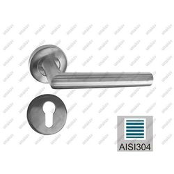 Klamka z szyldem AISI 304, K320, L135mm