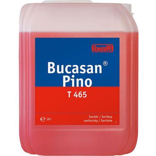 Płyny i żele do czyszczenia armatury, Bucasan® Pino T 465 Buzil Płyn do mycia sanitariatów i pomieszczeń wilgotnych 10 litrów