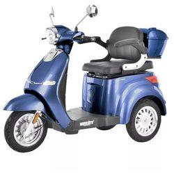 HECHT CITIS MAX BLUE WÓZEK SKUTER ELEKTRYCZNY INWALIDZKI DLA SENIORA AKUMULATOROWY E-SKUTER MOTOR - OFICJALNY DYSTRYBUTOR -AUTORYZOWANY DEALER HECHT promocja (--25%)