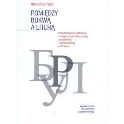 Pomiędzy bukwą a literą. Współczesna literatura mniejszości białoruskiej, ukraińskiej i łemkowskiej w Polsce (opr. miękka)