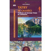 Mapy i atlasy turystyczne, Tatry w całości Mapa turystyczna 1:50 000 (opr. broszurowa)