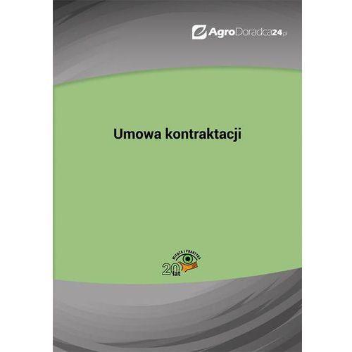 E-booki, Umowa kontraktacji - Anna Kolasa (PDF)