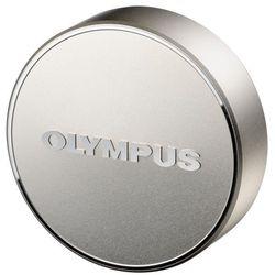 Olympus LC-61 metalowa pokrywka na obiektyw M.Zuiko 75/1.8 srebrna