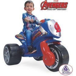 Injusa Trójkołowy 6V Motor Avengers na akumulator