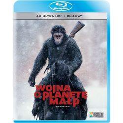 Wojna o Planetę Małp (2D+4K UHD) (Blu-ray) - Matt Reeves. DARMOWA DOSTAWA DO KIOSKU RUCHU OD 24,99ZŁ