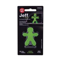 Mr&Mrs Fragrance Jeff Lemon & Orange zapach samochodowy 1 szt unisex