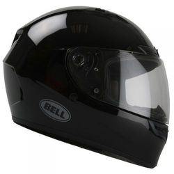 BELL QUALIFIER DLX SOLID GLOSS BLACK KASK INTEGRALNY