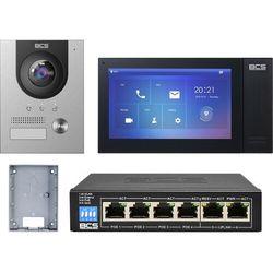 "Wideodomofonu IP BCS-PAN1701S-S + Monitor 7"" BCS-MON7400B-S Natynkowy"