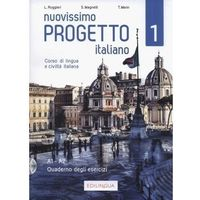 Książki do nauki języka, Nuovissimo Progetto italiano 1 A1-A2. Zeszyt ćwiczeń + CD (opr. miękka)