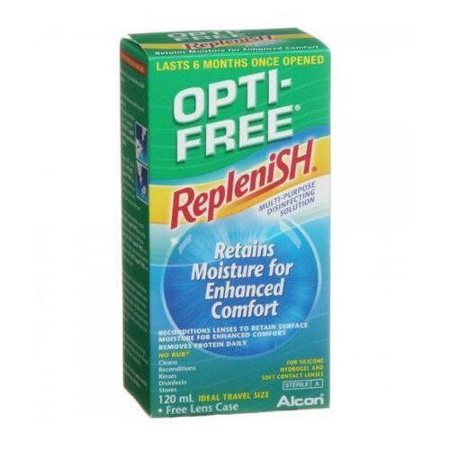 Płyny pielęgnacyjne do soczewek, OPTI-FREE Replenish 120 ml