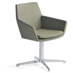 Krzesło konferencyjne FAIRVIEW, chrom, zielononiebieski