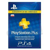 Kody i karty przedpłacone, Sony Subskrypcja PlayStation Plus 3 m-ce [kod aktywacyjny]