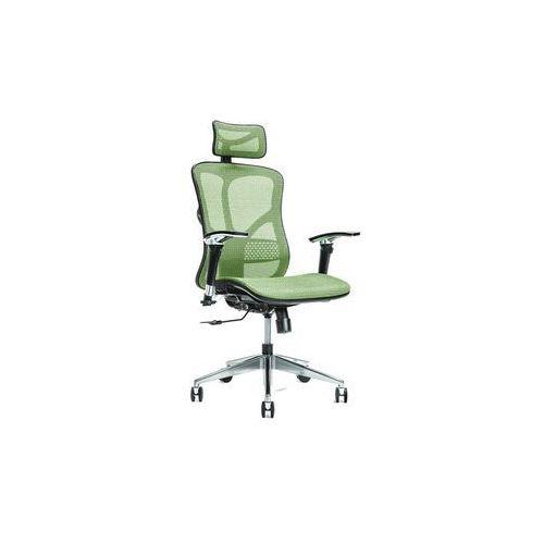 Fotele i krzesła biurowe, Ergonomiczny fotel biurowy ERGO 500 zielony