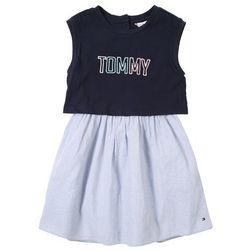 TOMMY HILFIGER Sukienka jasnoniebieski / czarny