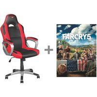 Fotele dla graczy, Fotel TRUST GXT 705 Ryon + Gra Far Cry 5 PC + DARMOWY TRANSPORT!