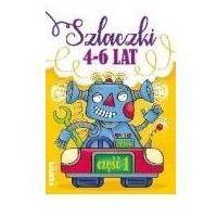 Książki dla dzieci, Ksiazeczka eduk 170x240 szlaczki 4-6 lat 1 lit (opr. broszurowa)