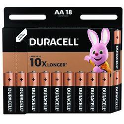 Baterie AA LR6 DURACELL (18 szt.)