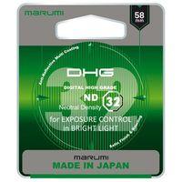 Filtry do obiektywów, Filtr Marumi DHG ND32 58mm (MND(32)58 DHG) Darmowy odbiór w 21 miastach!
