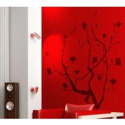 Flora 144 - wiosenne drzewko pomyślności - szablon do malowania