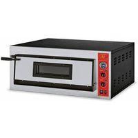 Piece i płyty grzejne gastronomiczne, Piec do pizzy 1-komorowy 6000W | 4x pizza 36cm | 230V
