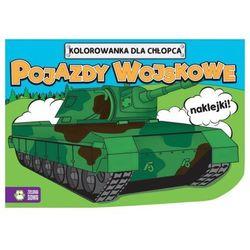 Kolorowanki dla chłopców Pojazdy wojskowe - (opr. miękka)