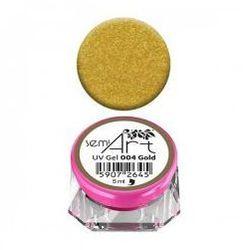 Semilac Semi-Art, żel do zdobień, 004 Gold, 5ml