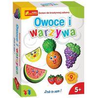 Kreatywne dla dzieci, Zestaw do kreatywnej zabawy - Owoce i warzywa