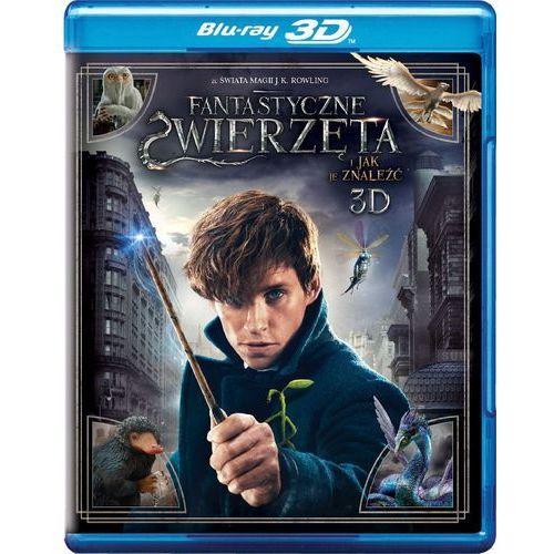 Filmy fantasy i s-f, Fantastyczne zwierzęta. I jak je znaleźć 3D (Blu-ray) - David Yates