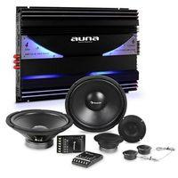 Pozostałe car audio-video, Auna CS-Comp-12 zestaw głośników samochodowych hi-fi | 6 -kanałowa końcowka mocy 570 W RMS