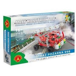 Mały Konstruktor - Straż Pożarna 998 ALEX