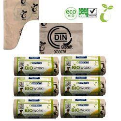Worki biodegradowalne kompostowalne ATEST 35L 60sz