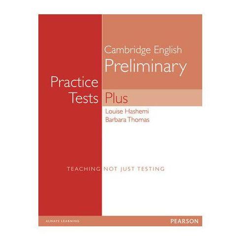 Książki do nauki języka, PET Practice Tests Plus 1 Student's Book (podręcznik) without key (opr. miękka)