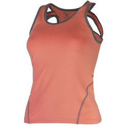 ROGELLI ROMILDA damska koszulka sportowa/ top 050.407, kolor: koral Rozmiar: S,rogelli-romilda-050-407-koral