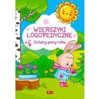 Książki dla dzieci, Wierszyki logopedyczne. cztery pory roku (opr. twarda)