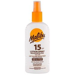 Malibu Lotion Spray SPF15 preparat do opalania ciała 200 ml unisex