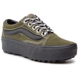 Sneakersy VANS - Old Skool Lug Pla VN0A3WLXVRY1 Grape Leaf/Bl