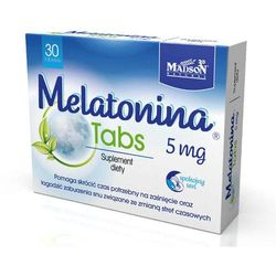 MELATONINA Tabs 5mg x 30 tabletek