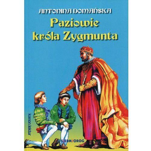 Książki dla dzieci, Paziowie króla Zygmunta - Antonina Domańska (opr. miękka)