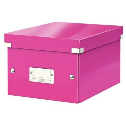 Kartony i pudła archiwizacyjne, Pudło uniwersalne Leitz Wow 6043-23 różowe