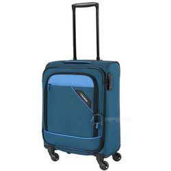 Travelite Derby mała walizka kabinowa 20/55 cm / niebieska - niebieski