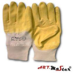 Rękawice ochronne ocieplane wykonane z dzianiny bawełnianej RGS E+ yellow kat. 2 10