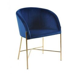 Fotel Ismen - niebieski