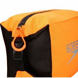 SPEEDO KOSMETYCZKA POOL SIDE BAG AU BLACK-ORANGE 5 LITRE