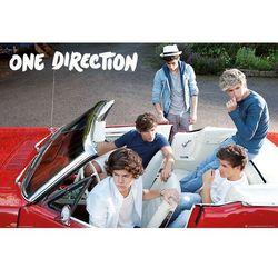 One Direction w samochodzie - plakat