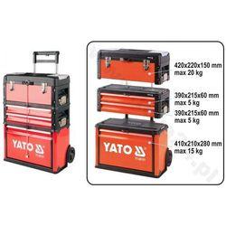 Wózek narzędziowy 3-częściowy YATO YT-09101