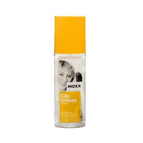 Dezodoranty damskie, Mexx City Breeze for Her Dezodorant 75ml atomizer - SIROSKAN