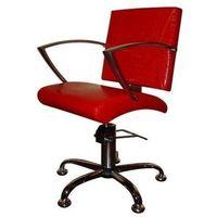 Meble fryzjerskie, Ayala Carmen 01 fotel fryzjerski na pompie hydraulicznej z możliwością wyboru podstawy