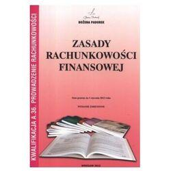 Zasady rachunkowości finansowej, podręcznik, Padurek (opr. broszurowa)