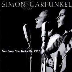 SIMON & GARFUNKEL - LIVE FROM NEW YORK CITY, 1967 (CD)